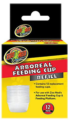 Zoo Med Arboreal Feeding Cup Refill 12pk