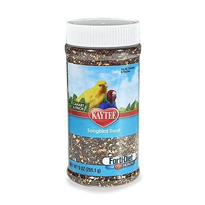 Kaytee Forti-Diet Pro Health Canary And Finch Songbird Treat, 9-Oz Jar
