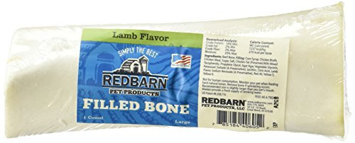 """Redbarn 3 to 6"""" Filled Dog Bones (Peanut Butter, Cheese N' Bacon, Beef), Natural"""