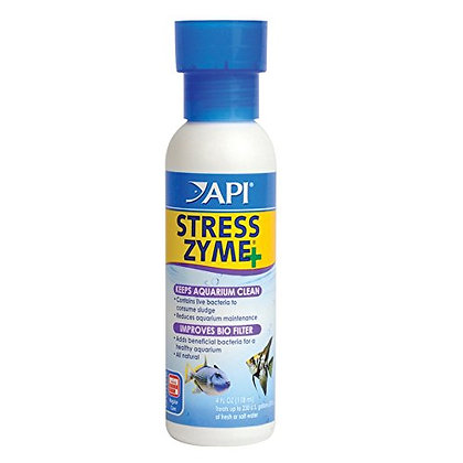 API STRESS ZYME Bacterial cleaner, Freshwater and Saltwater Aquarium Water Clean