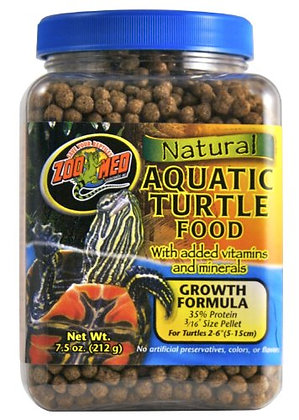 Zoo Med Laboratories SZMZM51 Aquatic Turtle Dry Food, 7.5-Ounce