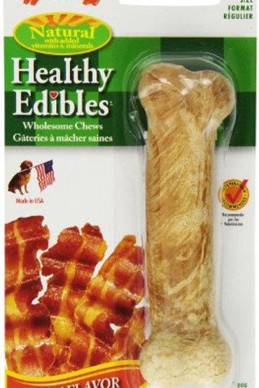 Nylabone Healthy Edibles All-Natural Long Lasting Bacon Chew Treats Bacon Flavor