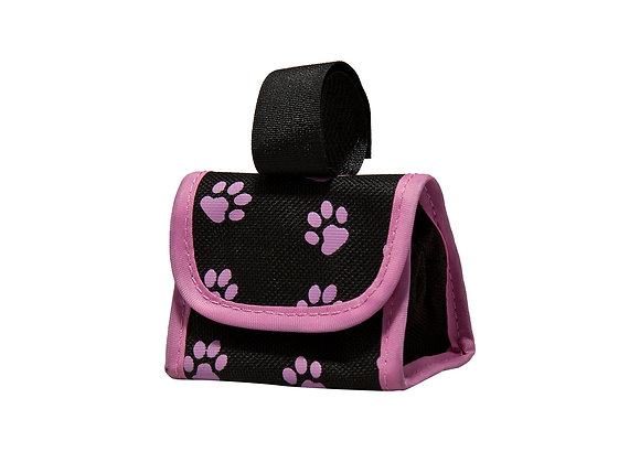 Five Star Pet Paw Print Dispenser and Pet Clean Up Bags, Pink