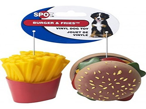 Ethical Pet Products (Spot) Vinyl Burger & Fries