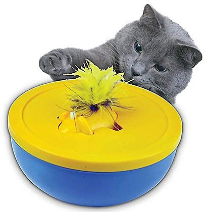 Our Pets Disappearing Feather Cat Toy