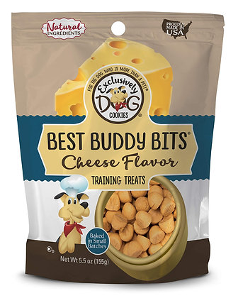 Exclusively Dog Best Buddy Bits-Cheese Flavor, 5-1/2-Ounce Package (44100)