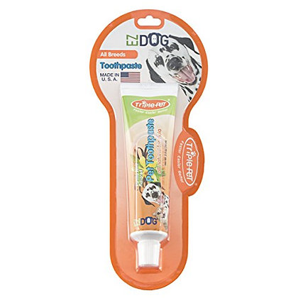 EZ DOG Toothpaste For Dogs   Dental Care For Dogs For Fresh Breath   Dogs Love t