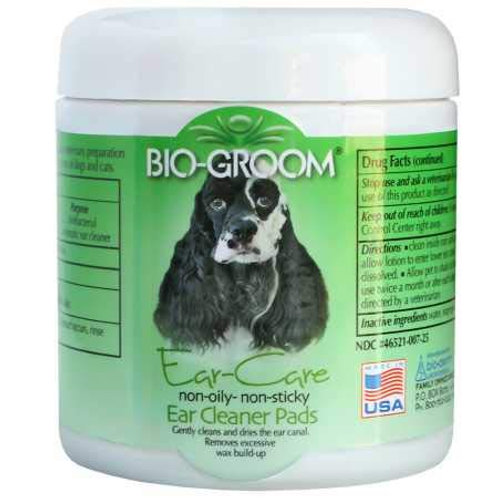 Bio-Groom 25-Count Ear Care Ear Cleaner Pads