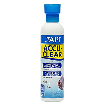 API ACCU-CLEAR Freshwater Aquarium Water Clarifier 8-Ounce Bottle