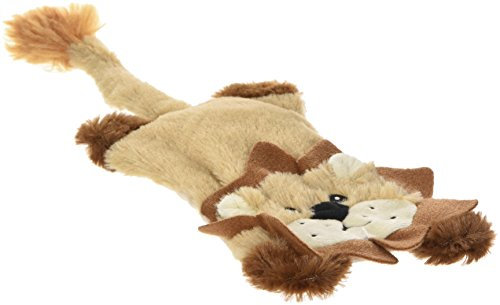 Ethical Skinneeez Flat Cats Assorted 12-Inch Stuffingless Dog Toy