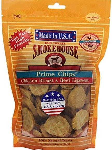Smokehouse USA Prime Chips Chicken/Beef 8 oz.