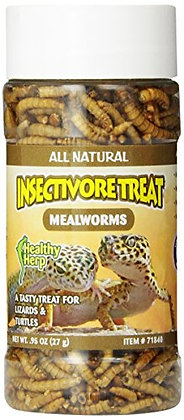San Francisco Bay Brand, Inc Healthy Herp Insectivore Treat Mealworms 0.95-Ounce