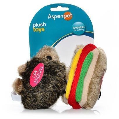 Booda Corporation (Aspen) DAP07549 Soft bite Hottdog/Hedgehog, Small, 2-Pack