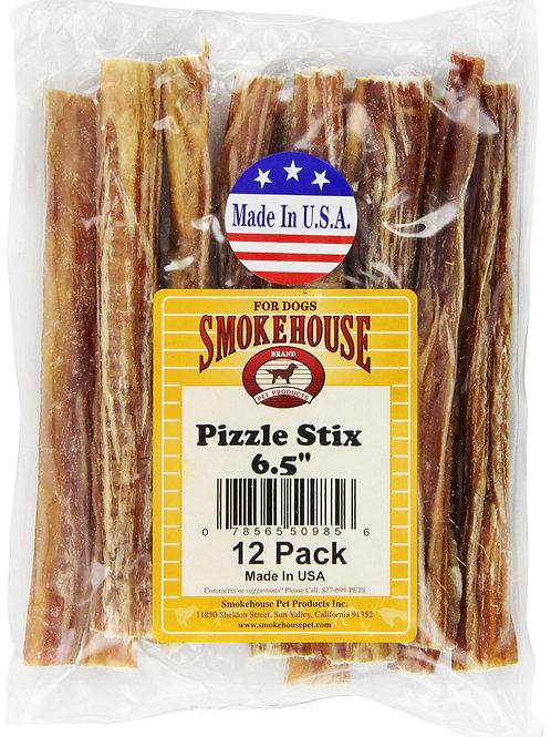 Smokehouse Pizzle Stixs Dog Treats, 12-Pack