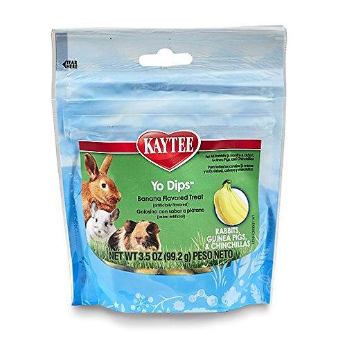 Kaytee Banana Flvor Yogurt Dipped Treat For Rabbit, Guinea Pig And Chinchilla, 3