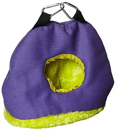 Prevue Pet Products BPV1167 Snuggle Sack Bird Nest with 2-Inch Opening, Small, C