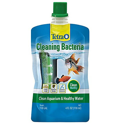 Tetra Cleaning Bacteria 4 Ounces, for A Clean Aquarium and Healthy Water, (Model