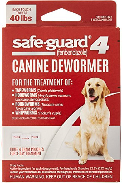 8in1 Safe-Guard Canine Dewormer for Large Dogs, 3 Day Treatment (packaging may v