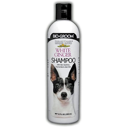 Bio-groom Natural Scents White Ginger Scented Shampoo, 12-Ounce