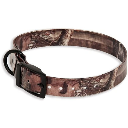 "Doskocil Aspen Pet Products TPU Petmate Collar, 1"" x 18-22"", Mossy Oak"