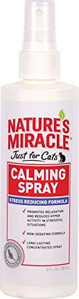 Nature's Miracle Just for Cats Calming Spray Stress Reducing Formula, 8-ounce (P