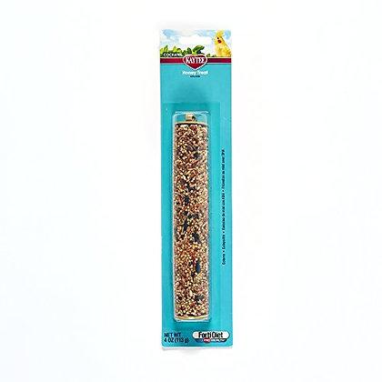 Kaytee Forti Diet Pro Health Honey Bird Stick Treats For Cockatiels, 4-Ounce