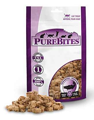 PureBites Freeze-Dried Cat Treats with Ocean Whitefish .39 oz