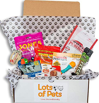 Lots of Pets Dog Party Box Teenie Meenie Dog (Small Dogs) Under 20 lbs.