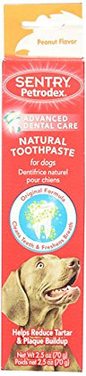 Petrodex Natural Toothpaste Dog - Peanut - 2.5 Oz