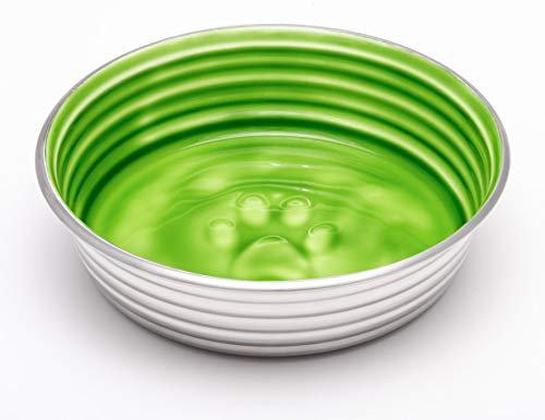 Loving Pets Le BOL Dog Bowl, Small, Chartreuse