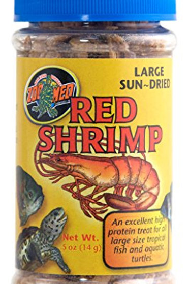 Zoo Med Large Red Shrimp Food, 0.5-Ounce