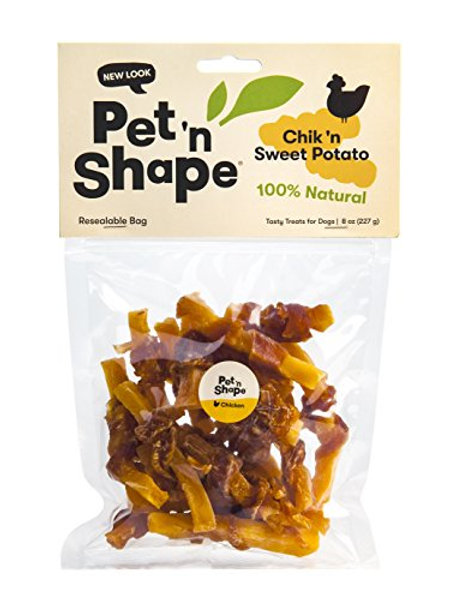 Pet 'n Shape Chik 'N Sweet Potato - All Natural Dog Treats, Chicken, 8 oz