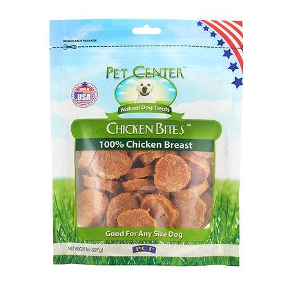 PCI Pet Center Inc. Chicken Bites 100% Chicken Breast Raw Dehydrated Chicken Bre