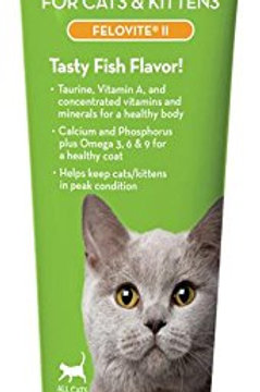 Tomlyn Felovite with Taurine Amino Acid Gel Nutritional Supplement for Cats & Ki