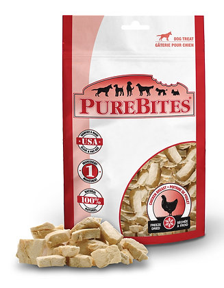 Purebites Chicken Breast For Dogs, 3.0Oz / 85G - Mid Size
