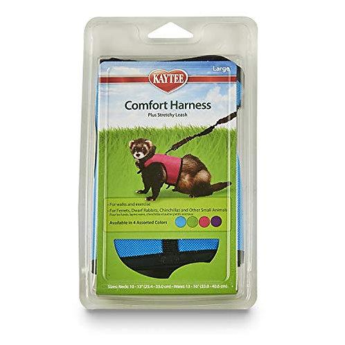 Kaytee Comfort Harness & Stretchy Leash, Large