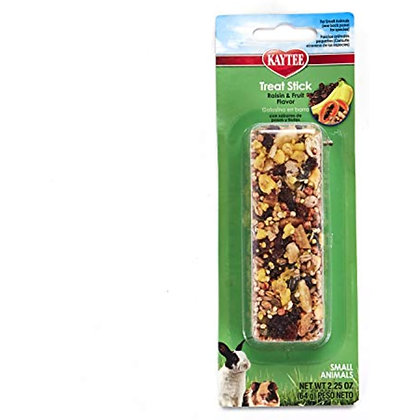 Kaytee Fiesta Fruity Raisin Treat Stick for Small Animals, 2.25-oz