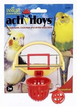 JW Pet Company Activitoys Birdie Basketball Bird Toy - 31092