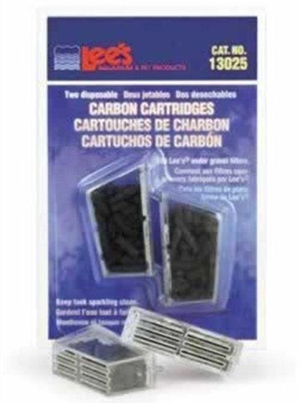 Lee's Carbon Cartridge, Disposable, 2-Pack