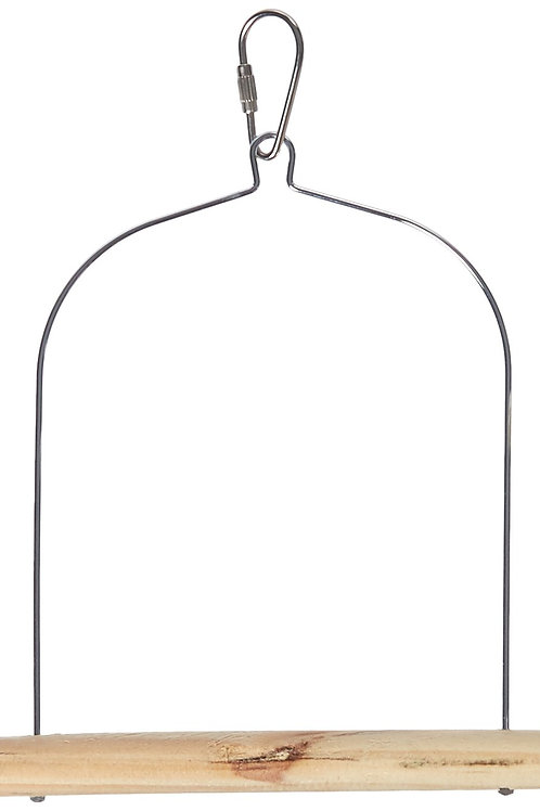 Prevue Pet Products BPV389 Natural Wood Birdie Basics Birch/Wire Swing, 5 by 7-I