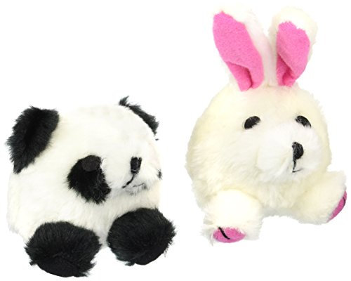 Squatter Panda/Rabbit Dog Toy (2 Pack)