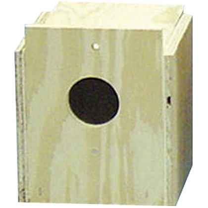 North American Pet Nest Box Finch Flat Front