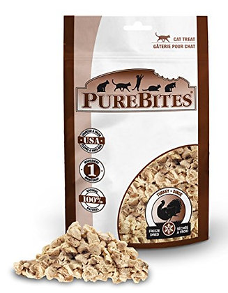 PureBites Turkey For Cats, 0.49Oz / 14G - Entry Size