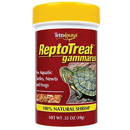 Tetrafauna ReptoTreat Gammarus 0.35 Ounce, Shrimp Treat For Aquatic Turtles, New