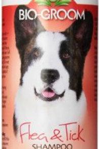 Bio-Groom Flea and Tick Dog/Cat Conditioning Shampoo, 12-Ounce
