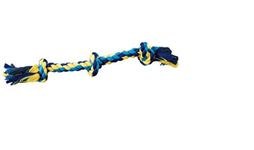 SPOT Ethical Pets Dental Rope 3-Knot Chew Toy, Small/15