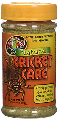 Zoo Med Laboratories SZMZM170 Natural Cricket Care, 1.75-Ounce