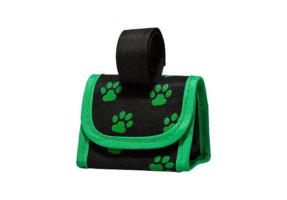 Five Star Pet Paw Print Dispenser & Pet Clean Up Bags, Green
