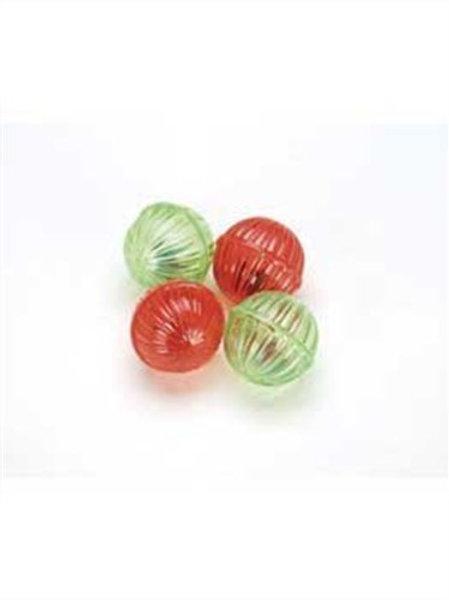 Ethical 4 Shimmer Balls Cat Toys
