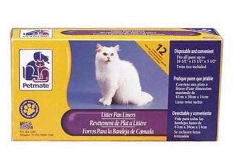 Petmate Cat Pan Liners Large